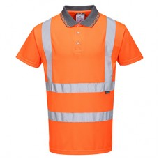 Hi-Vis S/S Polo Shirt RIS