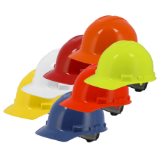 Hard Hat – 6-Point Suspension With Ratchet Adjustment