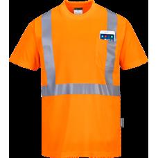 Hi-Vis Pocket T-Shirt