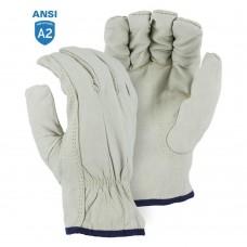 Majestic 1554KV Goatskin Drivers Glove with Cut Resistant Kevlar Lining