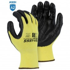 Majestic 3227 Cut-Less With Kevlar Cut Resistant Gloves with Foam Nitrile Palm Coating