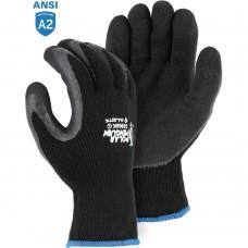 Majestic 3396BK Polar Penguin Winter Gloves with Latex Palm Coating