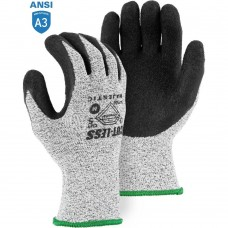 Majestic 34-1550 Cut-Less with Dyneema Cut-resistant Glove with Latex Palm Coating