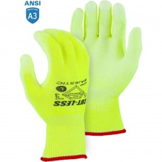 Majestic 3435NHY High Visibility Yellow Dyneema Cut-resistant Polyurethane Coated Glove