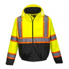 Hi-Vis 2in1 Bomber Jacket