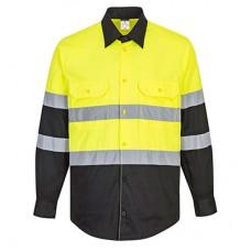 Hi-Vis Work Shirt  L/S