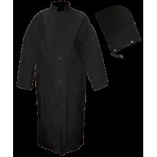 Open Road Light Black Industrial Long Coat
