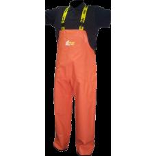 Extra Heavy Duty Viking Bristol Bay Orange Bib Pants