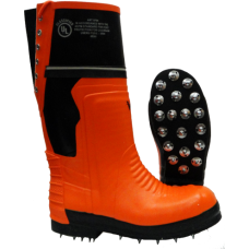 Viking Class 2 Chainsaw Spiked-sole Work Boots